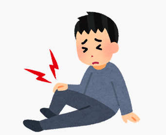 膝関節水腫(膝に水が溜まる)